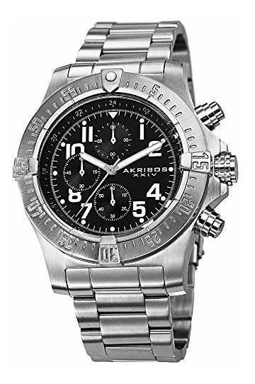 Akribos Xxiv Ak711 Reloj Cronógrafo Para Hombre, 3 Subesfera