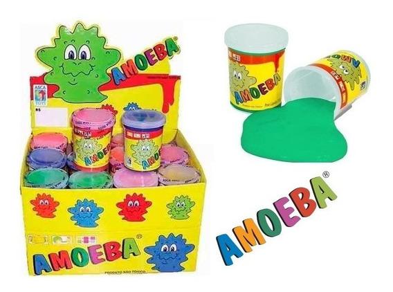 Kit 48 Geleinha Amoeba Massinha Brincar Brinquedos Asca Toys