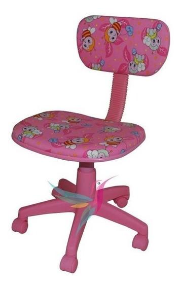 Cadeira Giratório Infantil Escritório Para Escrivaninha Abel
