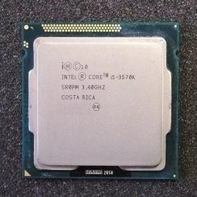 Processador Intel I5 3570k Multiplicador Desbloq 4.1ghz Oem