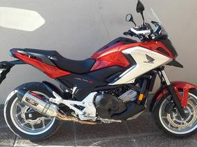 Honda Nc 750 X Con Muchos Accesorios Y Solo 3.000 Km