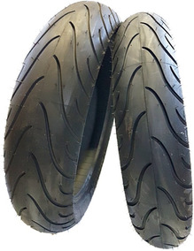 Par Pneu 110/70-17 + 140/70-17 Michelin Cb 250f Twister 2016
