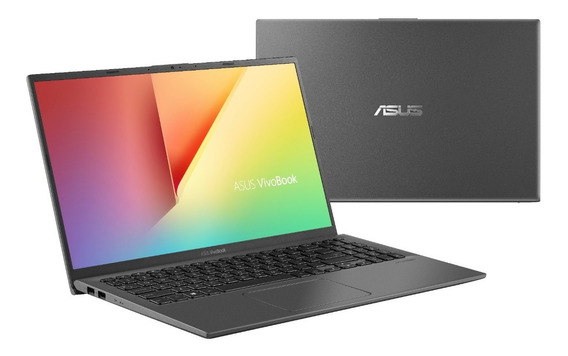 Notebook Asus X512fa Intel Core I5 4gb 1tb W10 15.6 Cinza