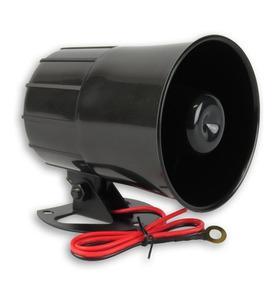 Sirene Corneta Magnetica Para Alarme Preta Gcp 1 Tom