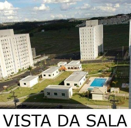 Apartamento Com 2 Dormitórios À Venda, 48 M² Por R$ 181.000,00 - Mirante Sul - Ribeirão Preto/sp - Ap4019