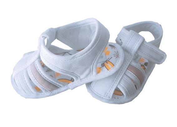Sandália Branca Menino - Araçá Baby