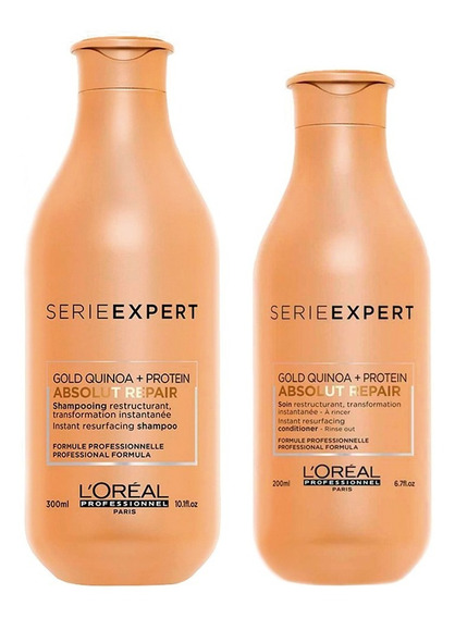 Kit Loreal Absolut Repair Shampoo X300 + Acondicionador X200