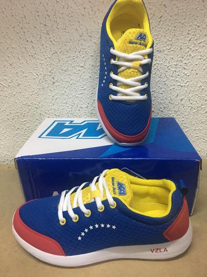 Zapato Venezuela Deportivo New Arrival (25manzanasverdes)