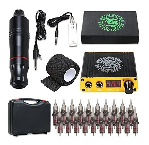 Kit De Máquina De Tatuaje Dragonhawk Cartridge Pen Máquin