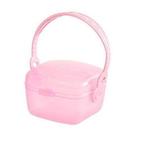 Porta Chupeta Girotondo Baby Rosa