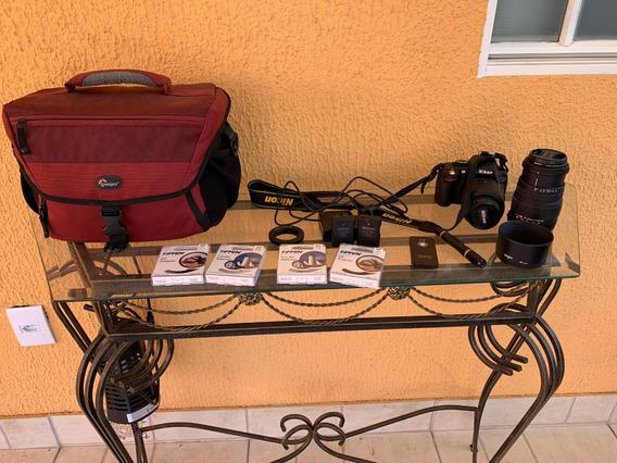 Nikon 5100 Usada Em Ótimo Estado
