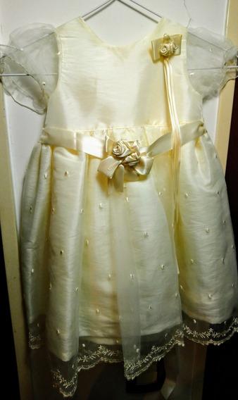 Vestido Nena Bautismo O Primer Año