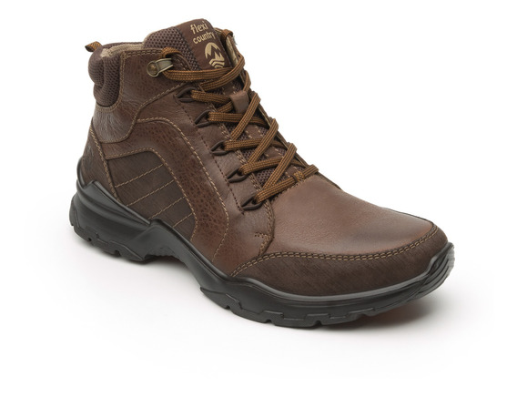 Bota Flexi Country Outdoor Caballero 77806 Chocolate