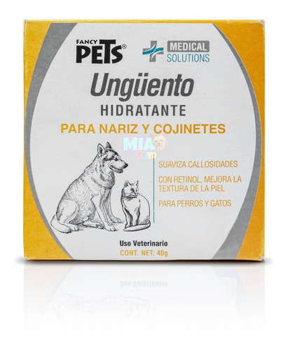 Imagen 1 de 6 de Ungüento Hidratante Nariz Cojinete Fancy 40g Perro Gato