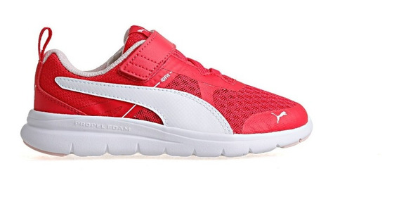 Zapatilla Puma Running Niña Flex Essential V Ps Adp Rosa Ras