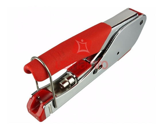 Alicate Compressão Crimpar Coaxial Conector Rg6 E Rg59