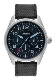 Relógio Orient Mbsnm002 Masculino Visor Preto/azul Sport