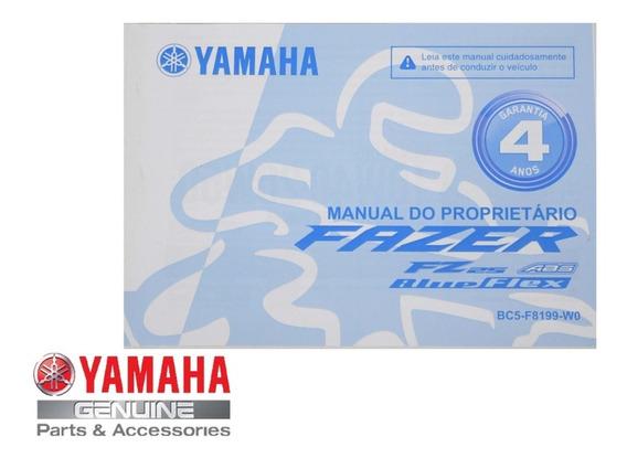 Manual Do Proprietário Fz25 Original Yamaha