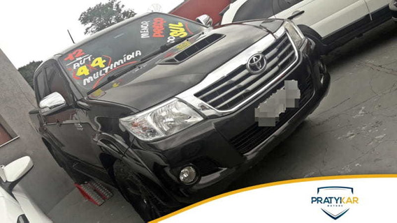 Toyota Hilux 3.0 Srv Cd 4x4 At 2012