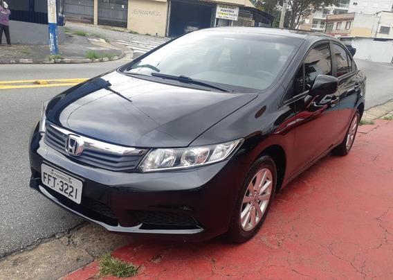 Honda Civic 1.8 Lxs Flex Aut. - 2013