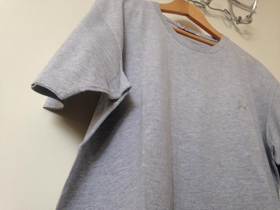 Camiseta Manga Curta / Beagle / Cinza / Tamanho G