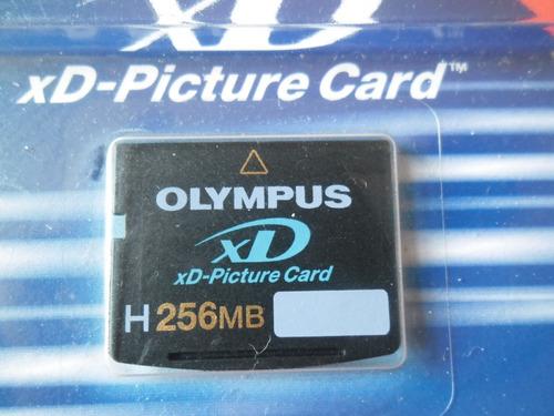 Cartão De Memória Xd Picture Card Olympus 256mb 3d Novo