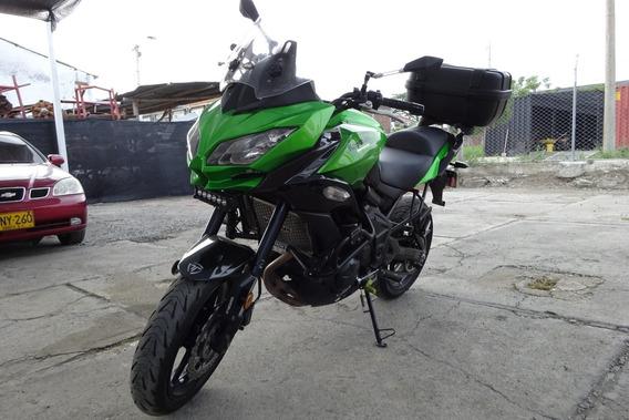 Kawasaki Versys 650 Verde Mod 2015
