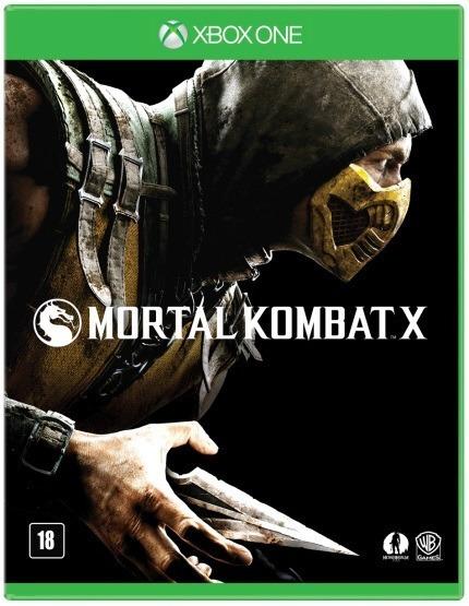 ( Frete R$ 9.90 ) Jogo Mortal Kombat X Xbox One Cd Fisica