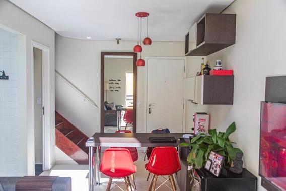 Apartamento Duplex Com 1 Dormitório À Venda, 45 M² Por R$ 650.000 - Moema Pássaros - São Paulo/sp - Ad0195