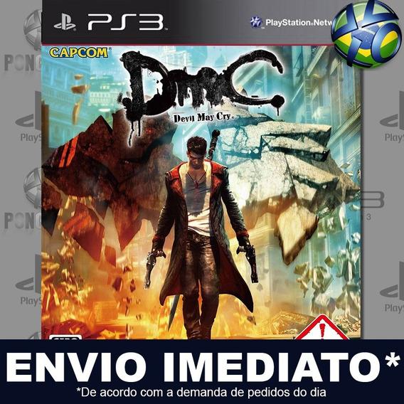 Dmc Devil May Cry Ps3 Psn Jogo Em Promoção A Pronta Entrega