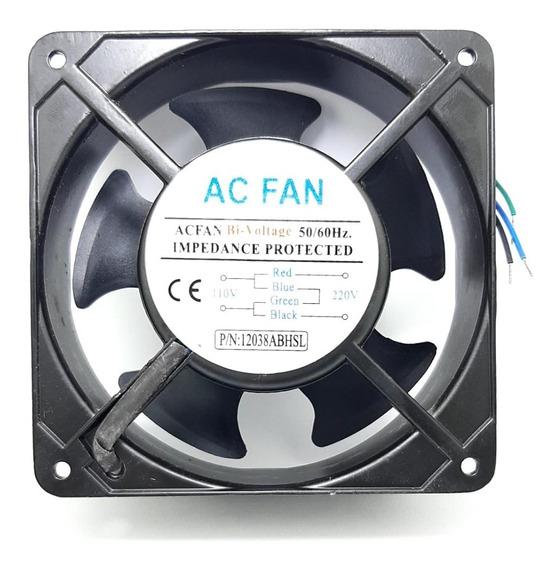 Micro Ventilador Cooler Ventoinha 120x120x38 110/220v