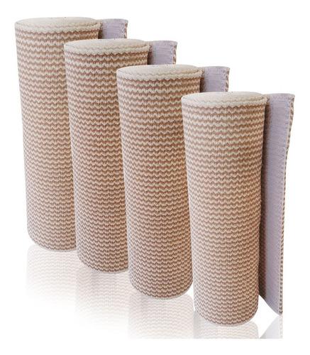 Imagen 1 de 2 de Venda Elástica Alta Compresión Con Velcro 15 Cm (4 Piezas)