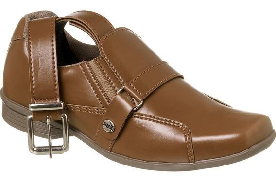 Sapato Social Com Cinto Infantil Menino Redmax A/b930-603
