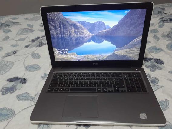 Notebook Dell Core 5567 I7 8gb 1t