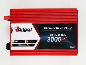 Inversor Senoidal Conversor 3000w 12v P/ 220v 3.000 Watts