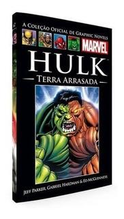 Livro Marvel Hulk Terra Arrasada Capa Dura Salvat