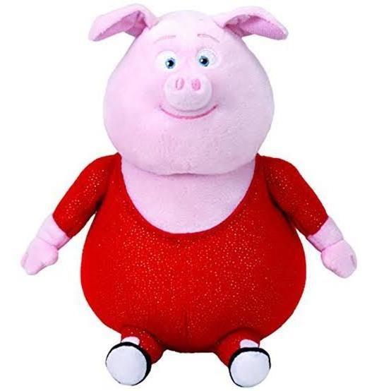 Beanie Boos Porquinho Gunter Sing Pelúcia Ty Dtc