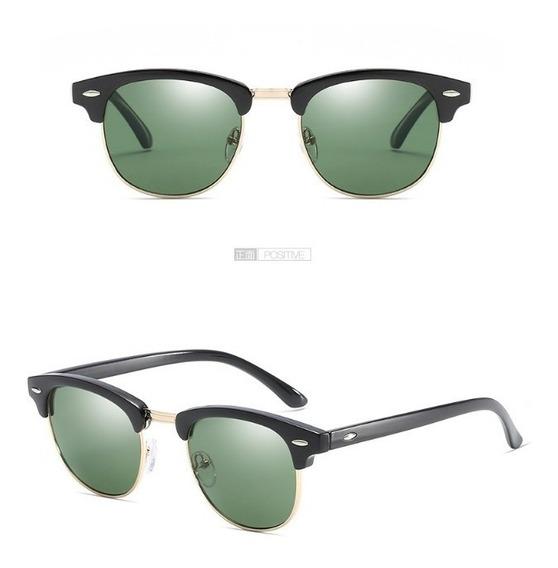 Gafas De Sol Clasicas Hombre Uv 400 Real Negras Elegantes
