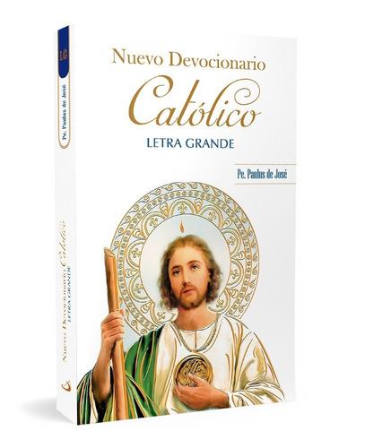 Imagen 1 de 1 de Nuevo Devocionario Católico - Letra Grande