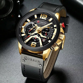 Relógio Masculino Curren Original 8329 - Couro
