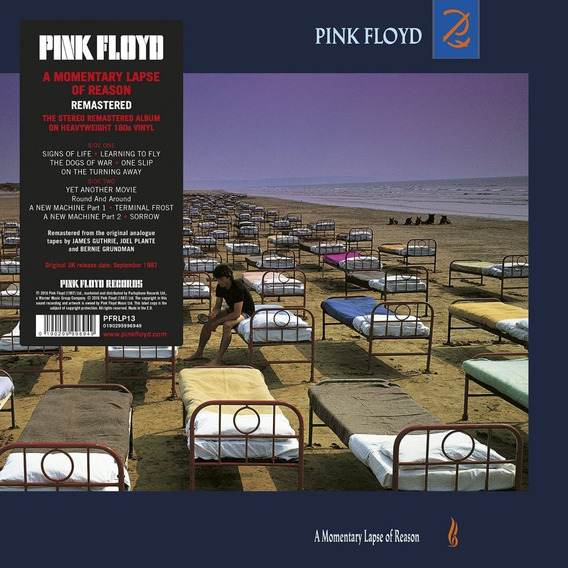 Pink Floyd Momentary Lapse Of Reason Import Lp Vinilo Nuevo