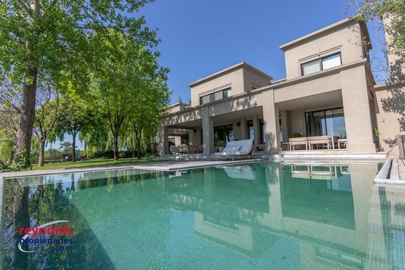 Fantastica Casa Al Lago En Bº Santa Barbara - Reynolds Propiedades