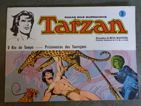 Tarzan 3 Russ Manning Ebal 1977 Prancha Dominicais Frete Gr