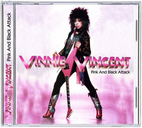 Cd Vinnie Vincent - 1999 - Pink And Black Attack