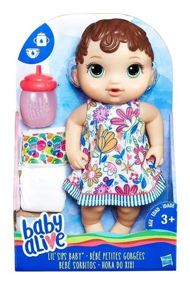 Brinquedo Boneca Baby Alive Hora Do Xixi Hasbro E0499