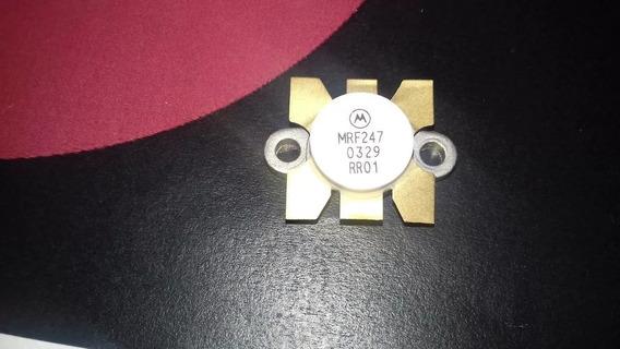 Transistor De Rf Mrf247 Mrf 247 Vhf Rf Mrf 247 Motorola