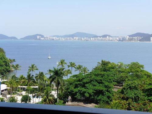 Lindo Apartamento, Com 5 Suítes, Frente Para Praia Da Enseada Com Vista Total Para O Mar. - Ap5082