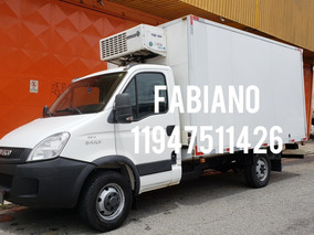 Iveco Daily 35s14 2014 Refrigeracao -18 Eletrico/acoplado