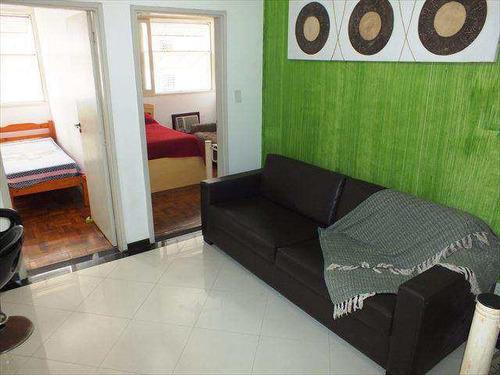 Apartamento Em Santos Bairro José Menino - V864