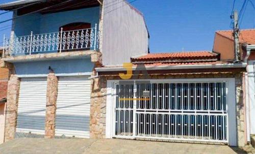 Imagem 1 de 19 de Casa Com Salão Comercial, Com 3 Dormitórios À Venda, 254 M² Por R$ 550.000 - Jardim Regina - Indaiatuba/sp - Ca14202